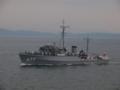 [海上自衛隊][まきしま]掃海艇「まきしま」。大阪湾にて。