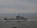 [海上自衛隊][ゆら]輸送艦「ゆら」。大阪湾にて。
