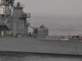 [海上自衛隊][はたかぜ][Mk42]護衛艦「はたかぜ」の後部5インチ砲。