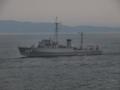 [海上自衛隊][さくしま]掃海管制艇「さくしま」。大阪湾にて。