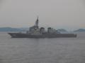 [海上自衛隊][きりしま]護衛艦「きりしま」。大阪湾にて。