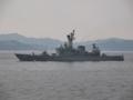 [海上自衛隊][はたかぜ]ミサイル護衛艦「はたかぜ」。大阪湾にて。