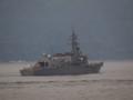 [海上自衛隊][いかづち]護衛艦「いかづち」。大阪湾にて。