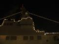 [海上自衛隊][いせ][電灯艦飾]天保山埠頭にて電灯艦飾中の護衛艦「いせ」。
