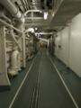 [海上自衛隊][とわだ]補給艦「とわだ」の補給通路。