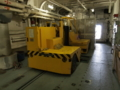 [海上自衛隊][とわだ]補給艦「とわだ」補給通路のサイドフォーク。