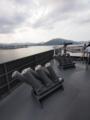 [海上自衛隊][とわだ][チャフランチャ][12.7mm機銃]補給艦「とわだ」チャフ甲板。