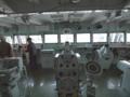 [海上自衛隊][とわだ]補給艦「とわだ」艦橋にて。