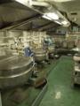 [海上自衛隊][とわだ]補給艦「とわだ」の調理室。許可をもらってドア越しに撮影。