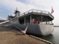 [海上自衛隊][とわだ]補給艦「とわだ」。敦賀にて。
