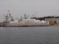 [米海軍][APL-40]横須賀港に停泊中の米海軍の宿泊船「APL-40」。