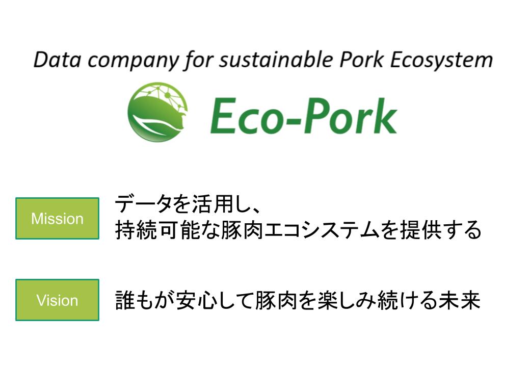 Eco−Porkのビジョンとミッション