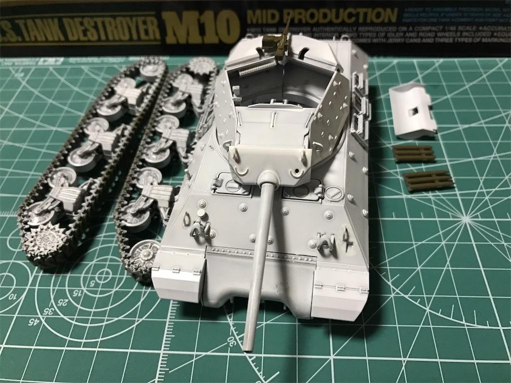 1/48 アメリカ陸軍 M10 駆逐戦車 中期型