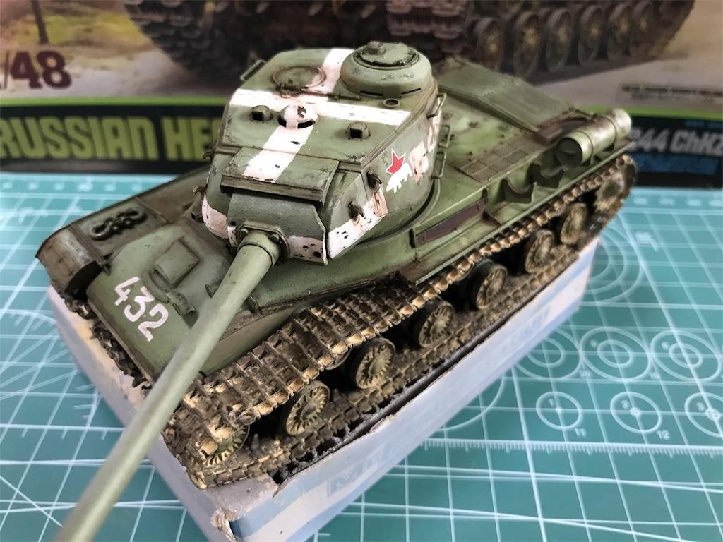 1/48 ソビエト陸軍 重戦車 JS-2 1944年型 ChKZ