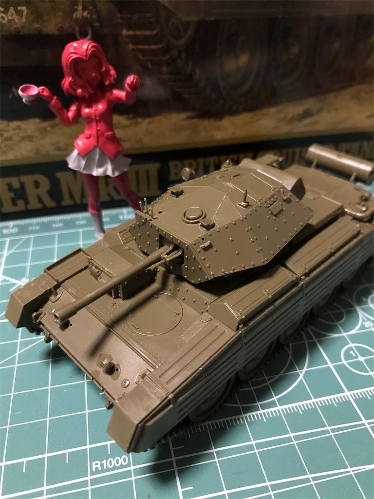 TAMIYA 1/48 イギリス陸軍 巡航戦車 クルセイダー Mk.III
