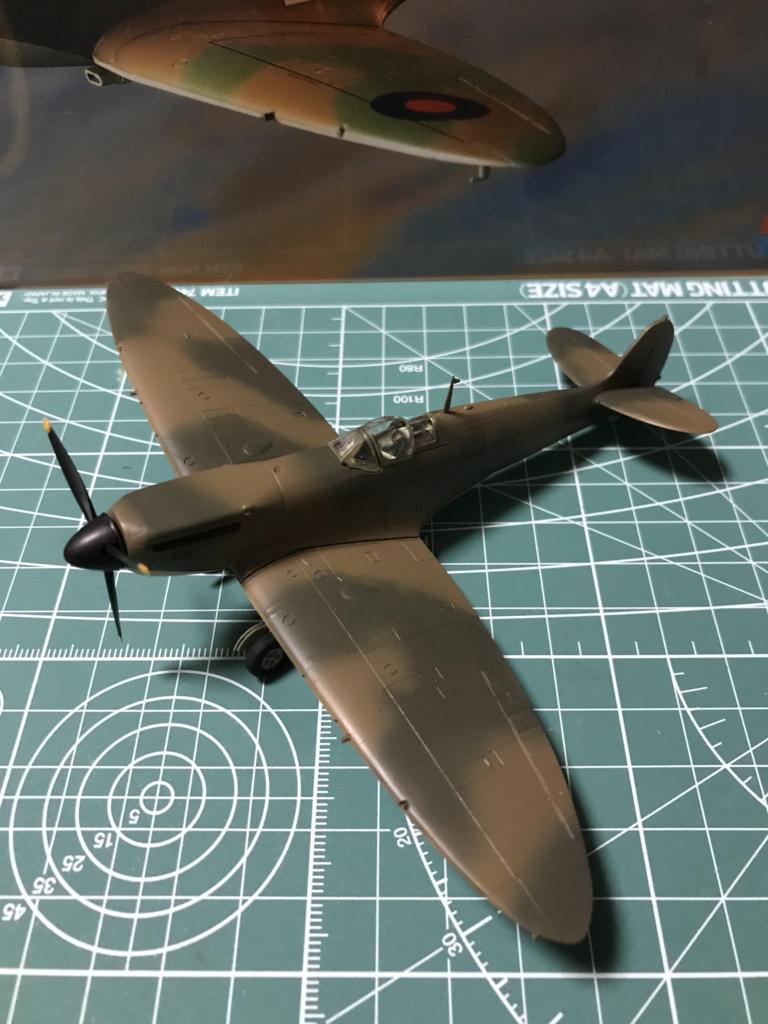 TAMIYA 1/72 イギリス空軍 スーパーマリン スピットファイア Mk.I