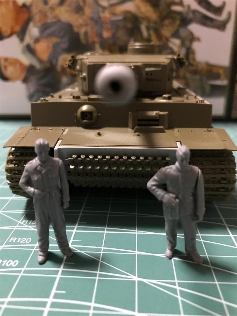 TAMIYA 1/48 ドイツ陸軍 重戦車 タイガーI 初期生産型