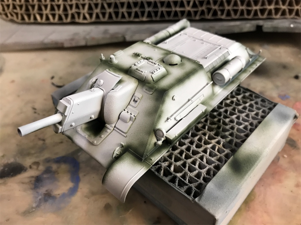 TAMIYA 1/48 ソビエト陸軍 自走砲 SU-122
