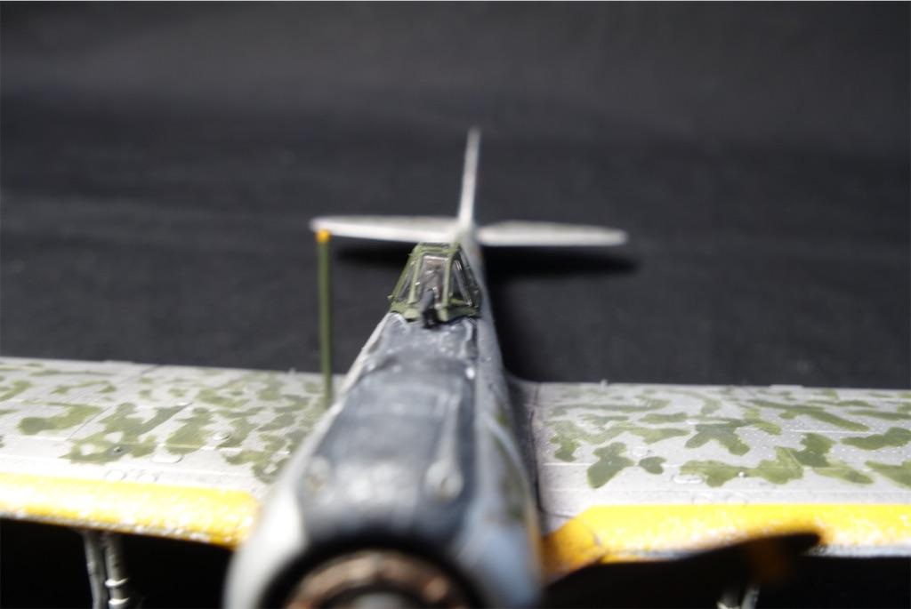 荒野のコトブキ飛行隊 マガジンキット 1/72 隼一型(キリエ機)