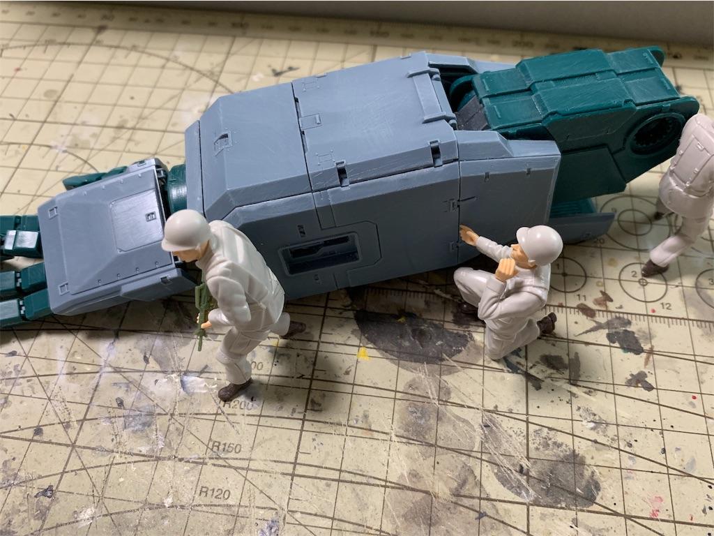 UCHG 1/35 地球連邦軍 対MS特技兵セット (機動戦士ガンダム 第08MS小隊)
