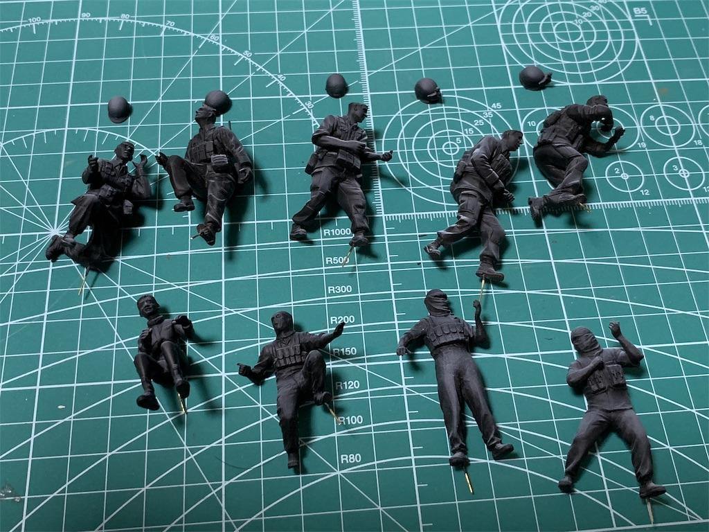 UCHG 1/35 地球連邦軍 対MS特技兵セット