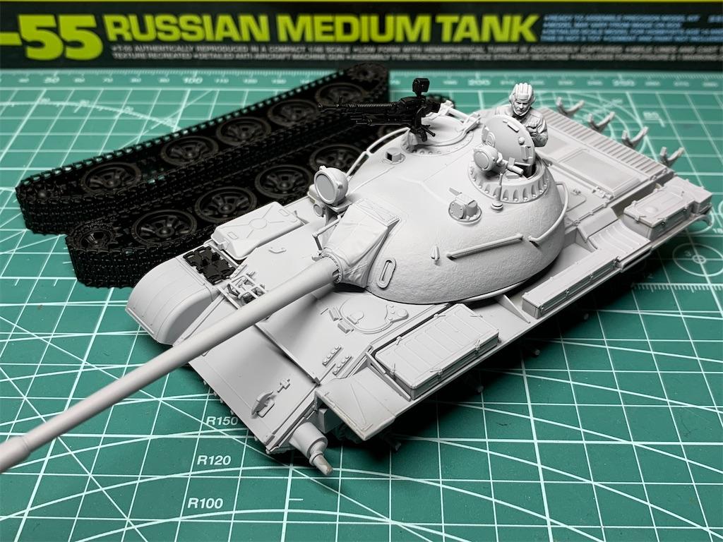 TAMIYA 1/48 ソビエト戦車 T-55