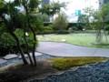寿月堂 銀座歌舞伎座店から見る庭園