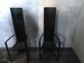 光の教会にある椅子