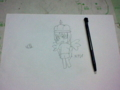エナレイ 大きさをタッチペンと対比