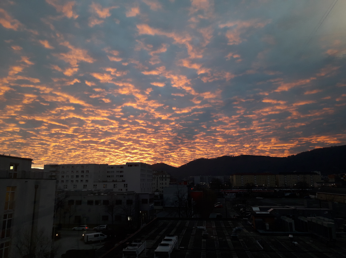 Final sunset of 2019 from my office