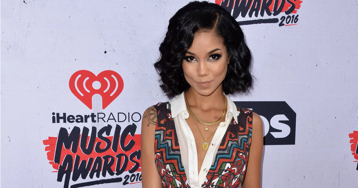 Jhene Aiko attends the iHeartRadio Music Awards at The Forum on April 3, 2016 in Los Angeles, CA, USA.