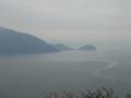 千々石展望台から橘湾を