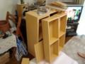 可動式棚付き本棚製造ちゅ