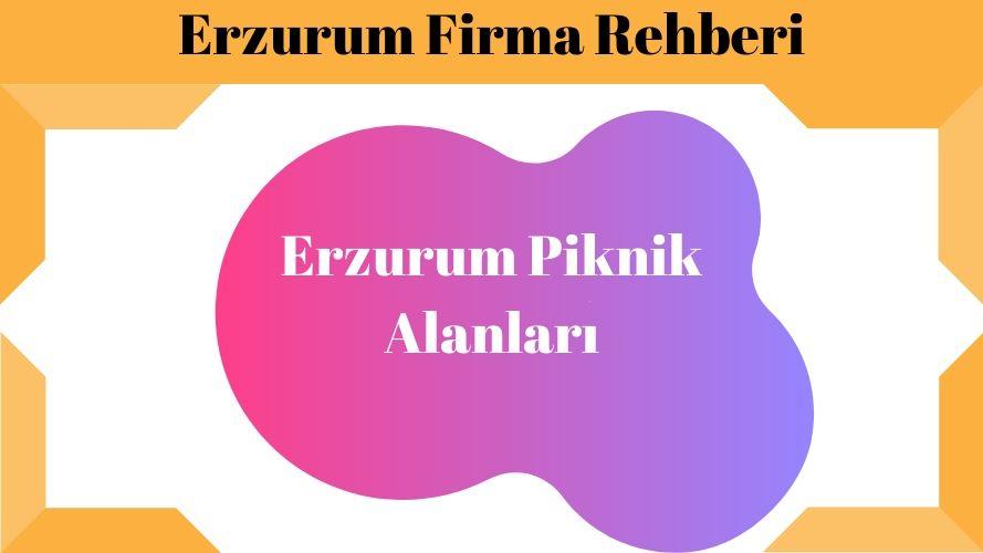 Erzurum Piknik Alanları