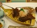 野母崎海の健康村の伊勢海老料理