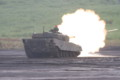 90式戦車行進間射撃3