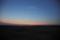岡山岡南飛行場の夕景/岡山市南区浦安南町にて
