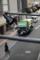 早朝のゴミ収集車/岡山市北区本町にて