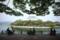 石山公園の風景-オープンカフェ/岡山市北区石関町にて