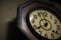 古い時計のある家/瀬戸内市牛窓町牛窓にて