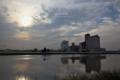 ひょうたん川の風景/岡山市中区沖元にて