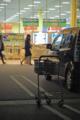 ショッピングカートのある風景/岡山市中区江崎にて