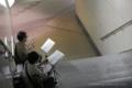 岡山市北区駅元町の風景写真 - 岡山駅路上ライブの風景