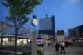 岡山市北区駅元町の風景写真 - 岡山駅西口/夕景