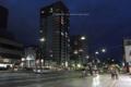 岡山市北区天神町の風景写真 - 夜の歩道