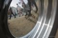 鳥取県八頭郡八頭町の風景写真 - Scenery of being reflected in a foil cap