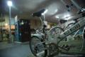 岡山市北区下石井の風景写真 - 夜の下石井駐輪場