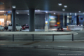 岡山市北区駅元町の風景写真 - 岡山駅西口ロータリー