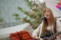岡山市北区駅元町の風景写真 - Singer-songwriter ( 藤井結子 )
