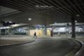 岡山市北区駅元町の風景写真 - 夜の岡山駅西口ロータリー